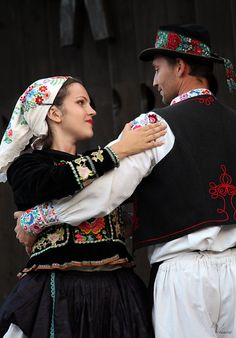 slovak-folk-costumes:  Podhorie village, Hont region, Central Slovakia.
