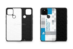 Google Pixel 4a 5g 2020 2d Rubber Flex Case Design Mockup