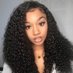 Carina Kinky Curly Human Hair Lace Front Wigs with Baby Hair Remy Full Lace Wigs Curled Hairstyles, Weave Hairstyles, Straight Hairstyles, Black Hairstyles, Short Haircuts, Saree Hairstyles, Dreadlock Hairstyles, Wedding Hairstyles, Kinky Curly Wigs