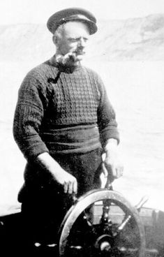 Typical gansey worn by east coast Britain fishermen.  They all featured a gusset under the arm for ease of working