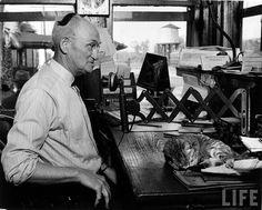 Mr. Baker, a railroad traffic director in South Carolina, 1942