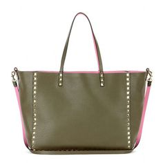 Valentino green bag..perfect for when im in a army mood (army trend) ^•^