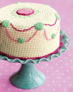 Crochet Cake Confection, free pattern by Brett Bara for favecrafts.