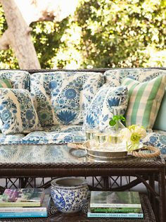 Perfect mix of colors for a porch - Lee Ann Thornton