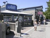 Ivar's on the waterfront at Puget Sound in Seattle. Try any of the grilled fish selections! I'm from the southeast, where most places don't grill seafood, they fry it. The first time I tried grilled seafood was at Ivar's, and a new food love was born...