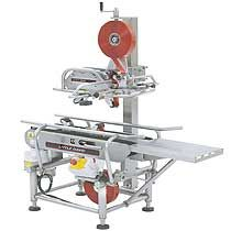 LD Xss Washdown Case Sealer  A Semi Automatic Box Taping Machine and Washdown Sealing System by Loveshaw Little David. Extremely Durable, Reliable, Anti-Microbial and Easy to Clean Design. Meets the needs of sanitary sensitive case sealing applications.