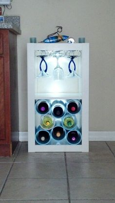 Expedit Wine Storage. Cause even in a small apt you must have a place for wine.