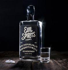 Packaging / lovely package evil spirits vodka 1