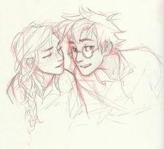 Harry Ginny Artist: http://burdge.tumblr.com/
