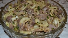 Маринованные куриные желудочки в соевом соусе острые и невероятно вкусные.