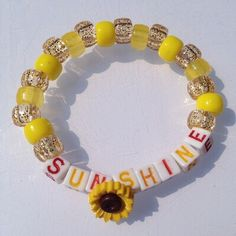 Natural kandi bracelet