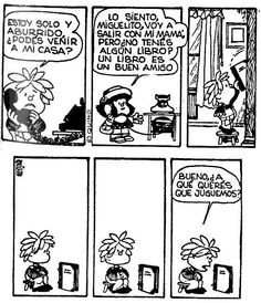 Mafalda – Library Cartoons, Comics and Drawings Mafalda Quotes, Buzzfeed Funny, What Is Digital, Spanish Humor, Spanish Class, Spanish Grammar, Spanish Language, Spanish Quotes, Argentine