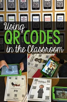 Using QR Codes in the classroom is great fun.  Find out some tips and tricks on how to use them effectively to engage students in research and learning.