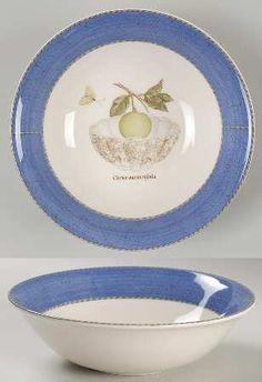 Wedgwood Sarahs Garden Tea Saucers Blue Set of 6