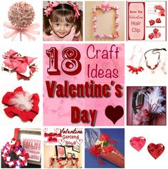18 Craft Ideas for Valentine's Day
