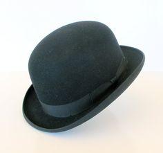 Vintage Mens Derby Hat Cavanaugh Hats New York by retrogroovie