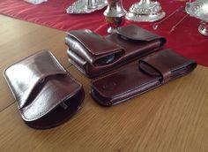 71415baa09c Maxwell Scott - leather Lapo leather key The Rufeno glasses case The Pienza  pen case The