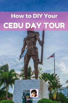 How to DIY Your Cebu Day Tour. List of budget and expenses for your Cebu Day Tour with Cebu Itinerary. Plus tips on how to enjoy your trip. Palawan, Siargao, Bohol, Manila, Travel Guides, Travel Tips, Budget Travel, Travel Photos, Travel Destinations