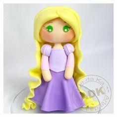 Rapunzel, Tangled #cake topper. #Disney