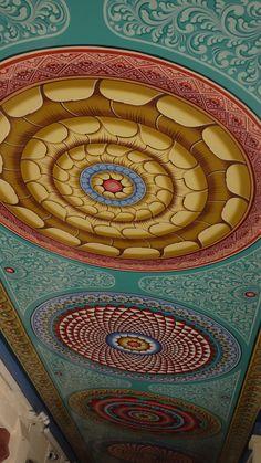Hindu Temple Singapore - ceiling