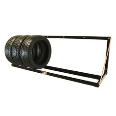 "The wall-mount rack is a very economical tire storage system specifically manufactured for small numbers of tires. This tire rack can be mounted on a wood or concrete-block wall and holds up to 8 tires with or without rims. The wall-mount tire rack is 66"" long, 22.5"" deep and can hold tires up to 32"" in diameter. The wall-mount allows you to clear your workspace, improve employee ergonomics and maintain a cleaner, better-organized workplace. Customers are increasingly drawn to tidy shops."