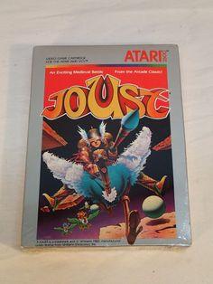 Vintage Atari 2600 Joust, New and Sealed (1983)