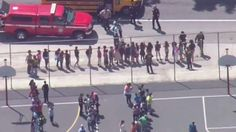 A California elementary school is currently on lockdown after 4 people reportedly were shot there Monday in what police suspect is a murder-suicide.