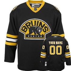 Boston Bruins Custom Third Jersey