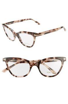 d5f20d42867de7 Tom Ford 49mm Cat Eye Optical Glasses (Online Only)   Nordstrom
