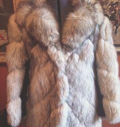 Elegant 1960s Fox fur 3/4 length by HootenAnniesHideaway on Etsy, $245.79