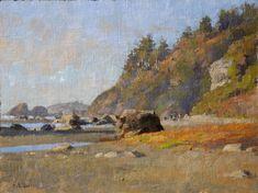 Jim McVicker . Moonstone Beach