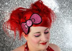 i have a lot of pink glittery hair bows, but one more would do just fine