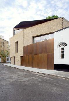 Levring House, London // Jamie Fobert Architects