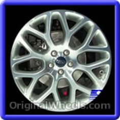 Ford Fusion 2013 Wheels & Rims Hollander #3963 #FordFusion #Ford #Fusion #2013 #Wheels #Rims #Stock #Factory #Original #OEM #OE #Steel #Alloy #Used