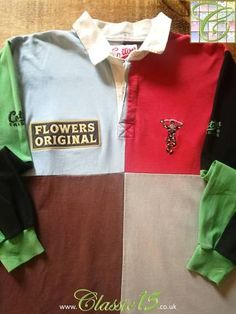 Official Cotton Traders Harlequins home rugby shirt from the 1994 season.