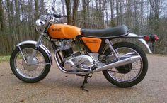 Norton Commando 750, 1971. Steven McQueen had one, Valentino Rossi has one.