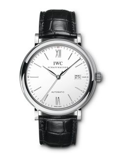 David M Robinson - IWC Portofino Automatic - All Collections - IWC Schaffhausen - By Brand - Watch Best Watches For Men, Cool Watches, Iwc Chronograph, Iwc Watches, Bracelet Cuir, Automatic Watch, Watch Brands, Luxury Watches, Bracelets