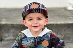 Boy Headbands, Kids Baseball Caps, Baby Boy Accessories, Flat Brim Hat, Boys Long Hairstyles, Camo Baby Stuff, Cute Hats, Snapback Cap, Little Boys