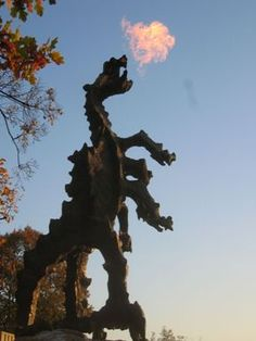 Famous Dragon's Lair, Krakow, Poland. Been there so many times, never can get sick of it! <3