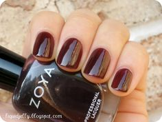 Liquid Jelly: Zoya Gloss Collection Swatches - Zoya Nail Polish in Katherine