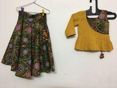 Churidar Designs, Choli Designs, Blouse Designs, Garba Dress, Navratri Dress, Kids Ethnic Wear, Kids Gown, Dresses Kids Girl, Cut Shirts