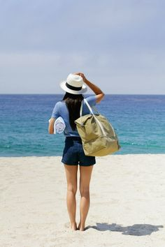 Summer style from Lo & Sons. To the beach! #Summer #Travel