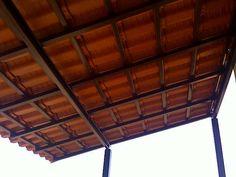 Cobertura residencial em estruturas metalicas