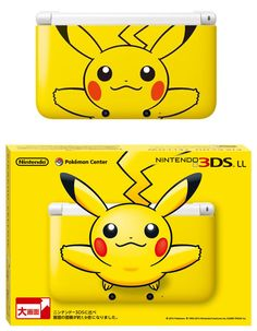 This one is totally all @Heidi Youn Park: Special edition Pokemon Nintendo 3DS XL