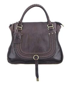 Another great find on #zulily! Chocolate Anna Tote by Nancy Kyoto #zulilyfinds