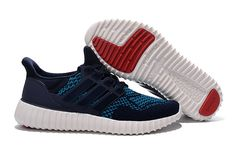 huge discount e5c1d 99b80 Populaire Adidas Yeezy Ultra Boost 2016 Primeknit Obsidian Teal White blanc  Sport Red. Jrenfr owenia · Adidas Boost Running Shoes