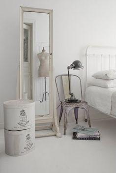 Chambre tout en blanc !