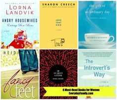 Books have the power to teach and to bind. From fiction to non-fiction, you must get your hands -- and your eyes -- on these six must-read books for women.