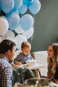 An elegant and classic first birthday party for our one year old baby boy