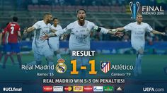 Champions League (Final): Real Madrid 1 - Atlético de Madrid 1 (5-3) | Football Manager All Star